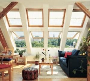 GHL покривен прозорец