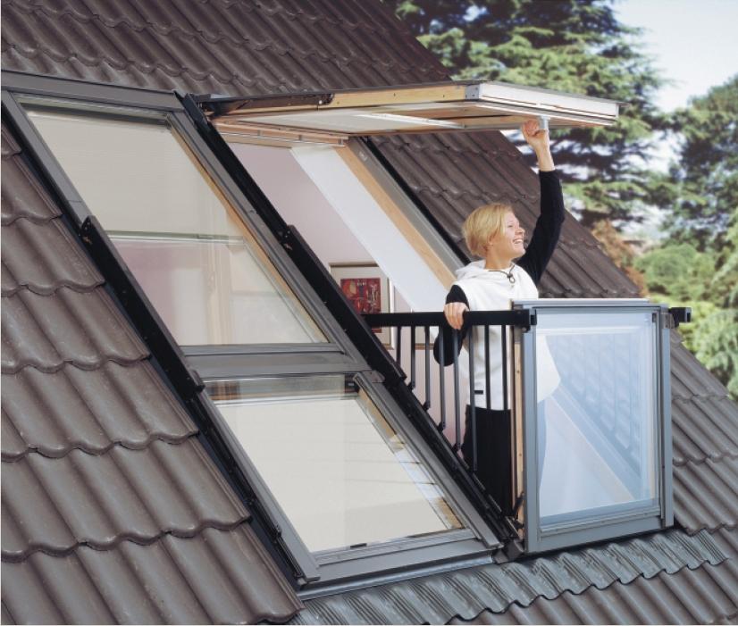 Как сделать балкон на мансардной крыше 487